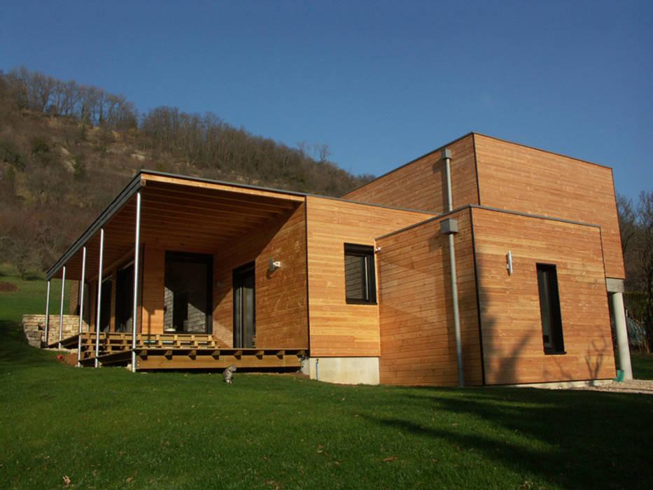 Angle sud de la maison: Maisons de style de style Moderne par Cléo Chatelet Architecte