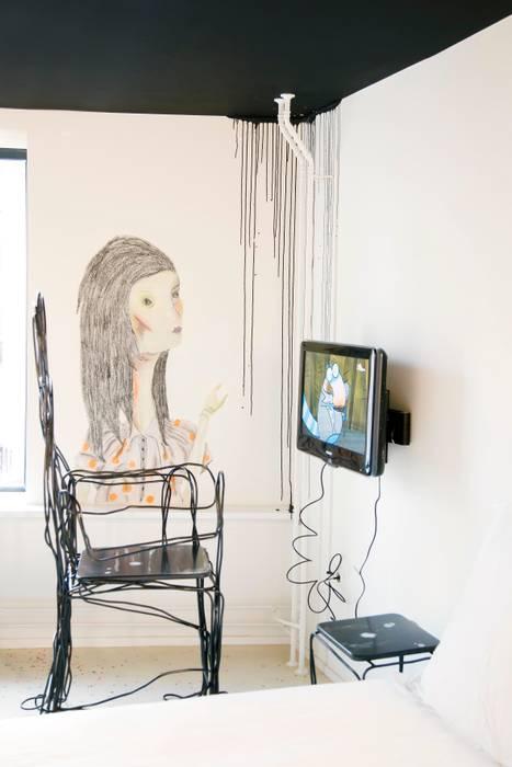 Room of Misunderstood Creatures Eclectische hotels van Roos Soetekouw Design Eclectisch