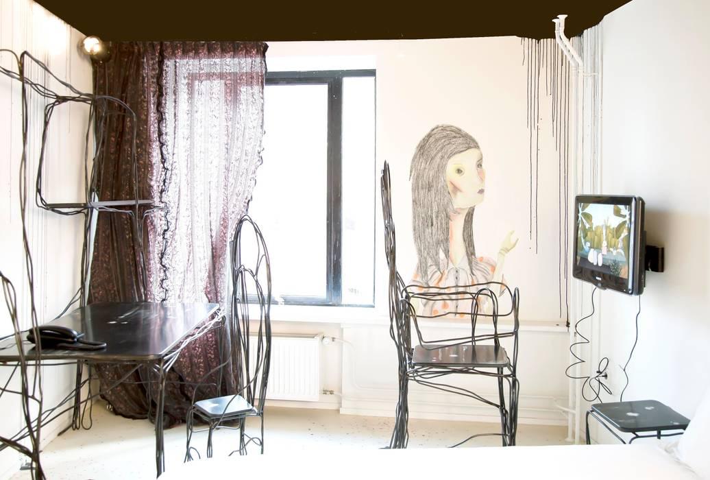 Room of Misunderstood Creatures:  Hotels door Roos Soetekouw Design