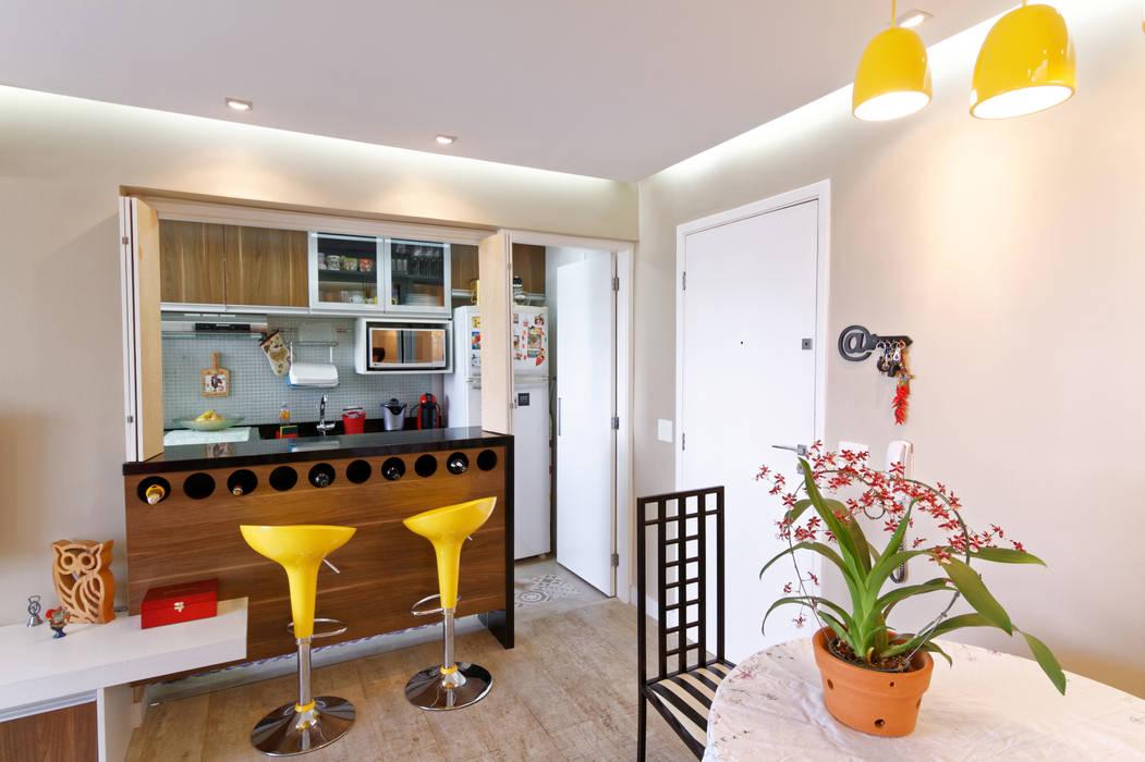Raphael Civille Arquitetura Ruang Makan Minimalis