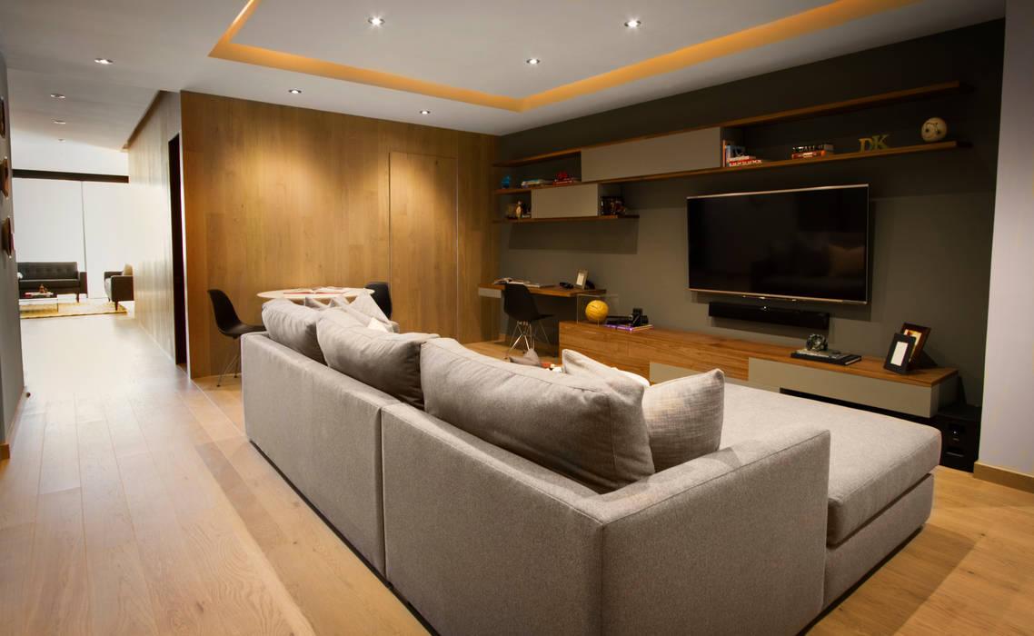 Departamento DG Concepto Taller de Arquitectura Salas multimedia modernas
