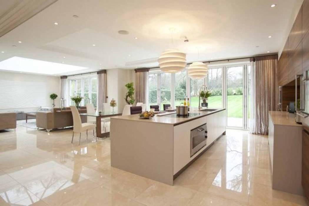 Park House, Kitchen de Pygmalion Interiors Moderno