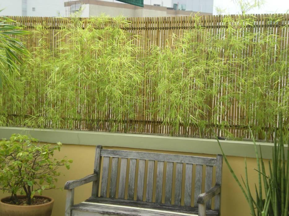 Jardines de estilo rústico de Bambu Rei Eco-Design Rústico