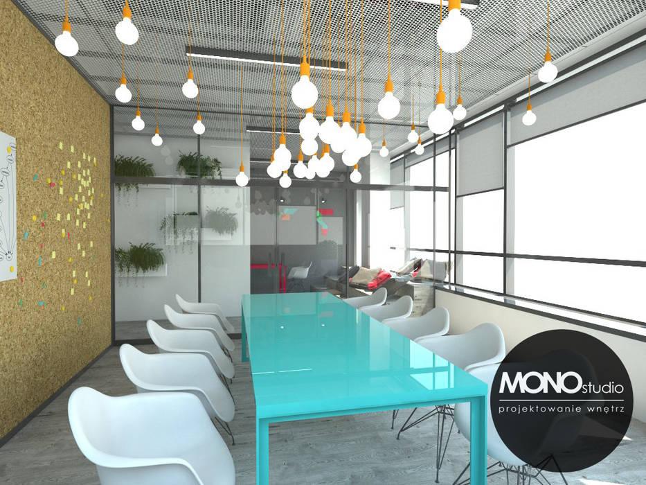 Nowoczesna przestrzeń biurowa od MONOstudio Nowoczesny