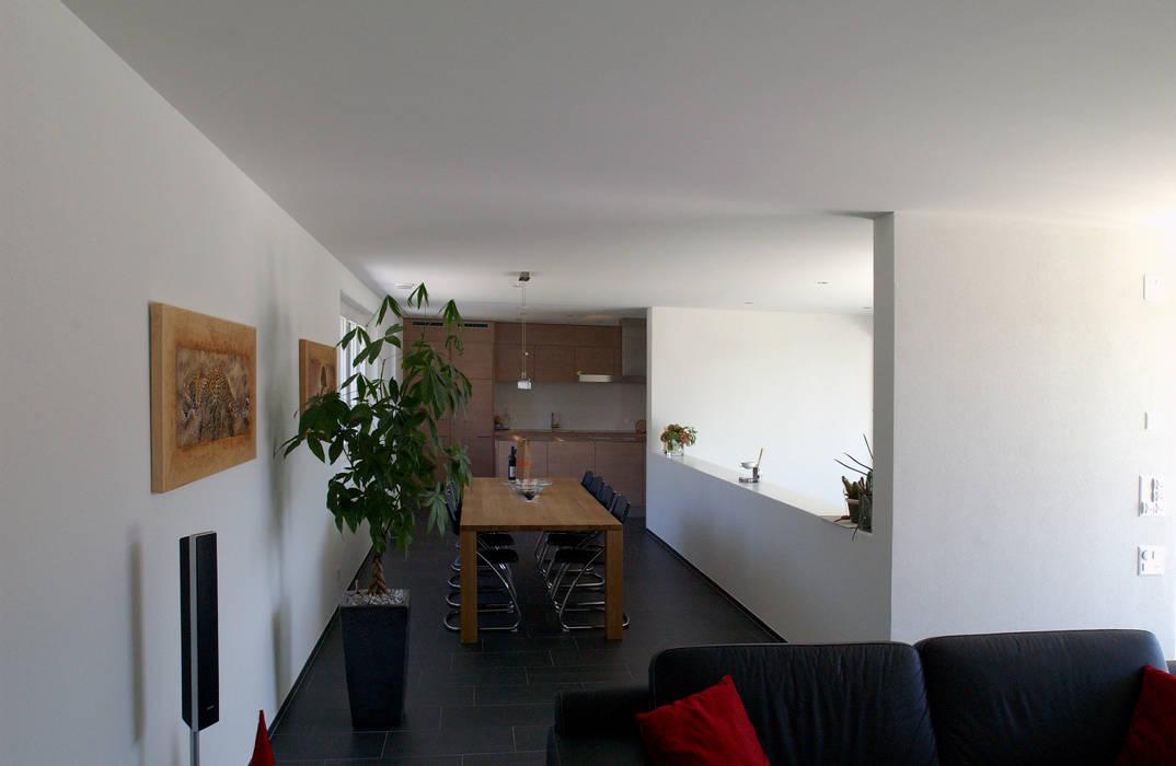 DEFH Schützenhausstrasse, Döttingen, 2006 Moderne Esszimmer von 5 Architekten AG Modern