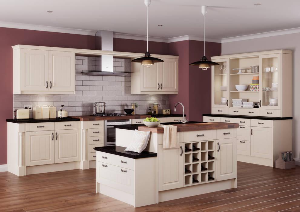 Arran Ivory Island | Sigma 3 Kitchens : classic Kitchen by Sigma 3 Kitchens