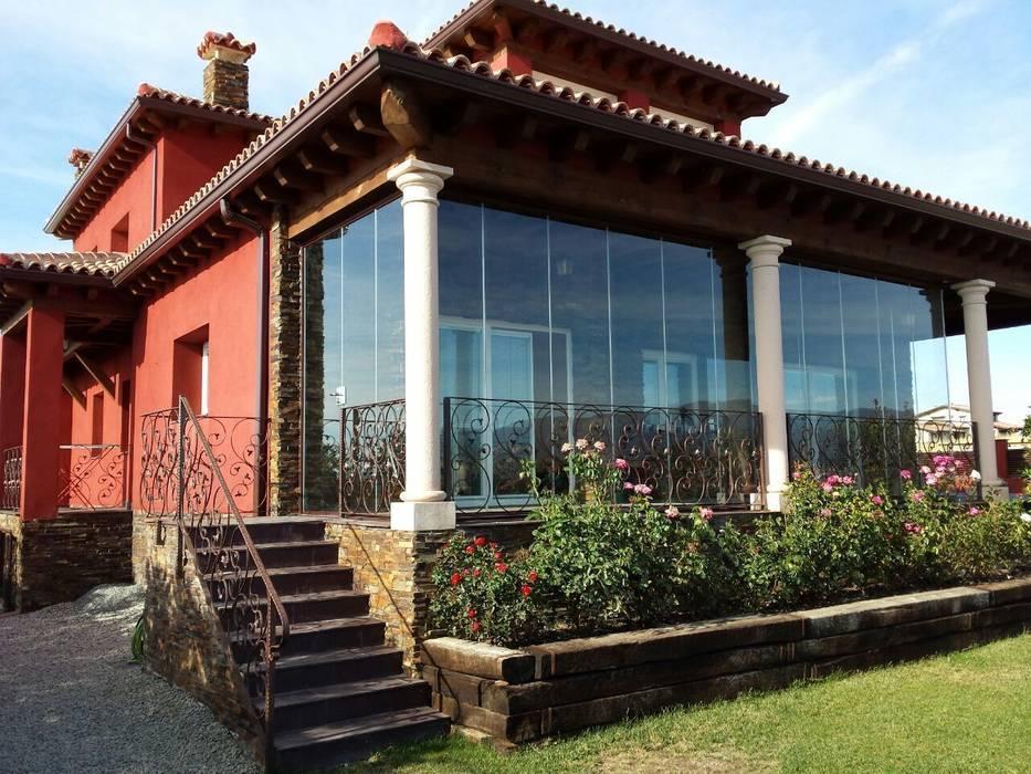 Terrace by INTERIORIZA XAMORALL SL, Rustic
