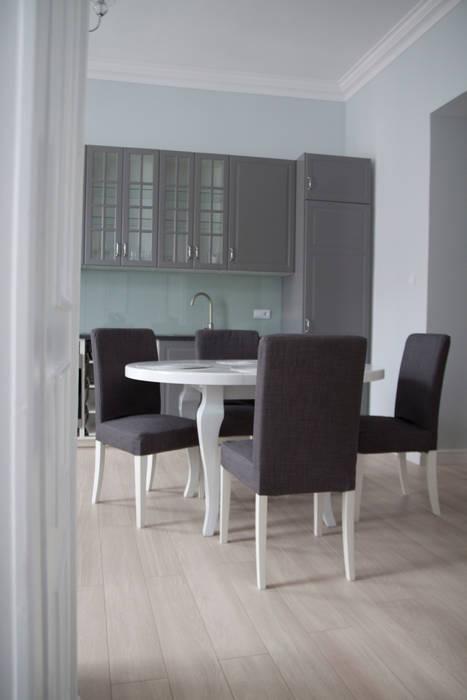 Kuchnia : styl , w kategorii Kuchnia zaprojektowany przez Grey shade interiors