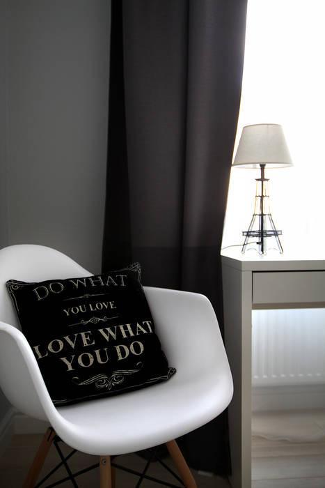 Sypialnia detal od Grey shade interiors Eklektyczny