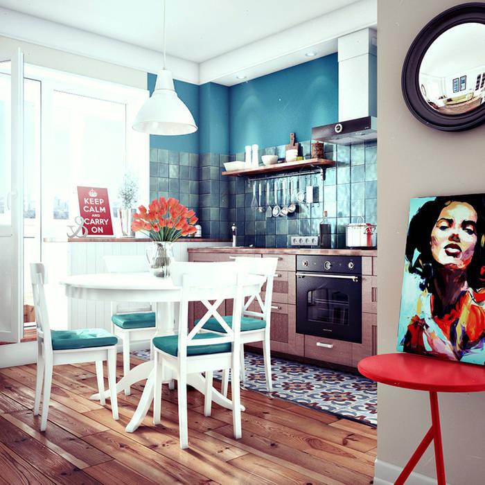 Scandinavian style kitchen by sreda Scandinavian