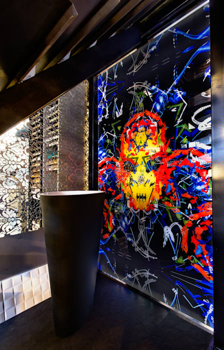 Artiste Acrymx: Espaces commerciaux de style  par AIC Design