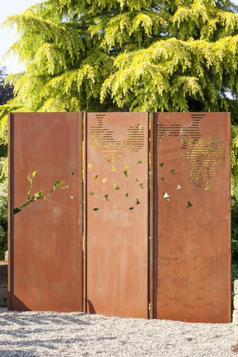 Sichtschutzwände - Gartenwände: modern  von Atelier51,Modern