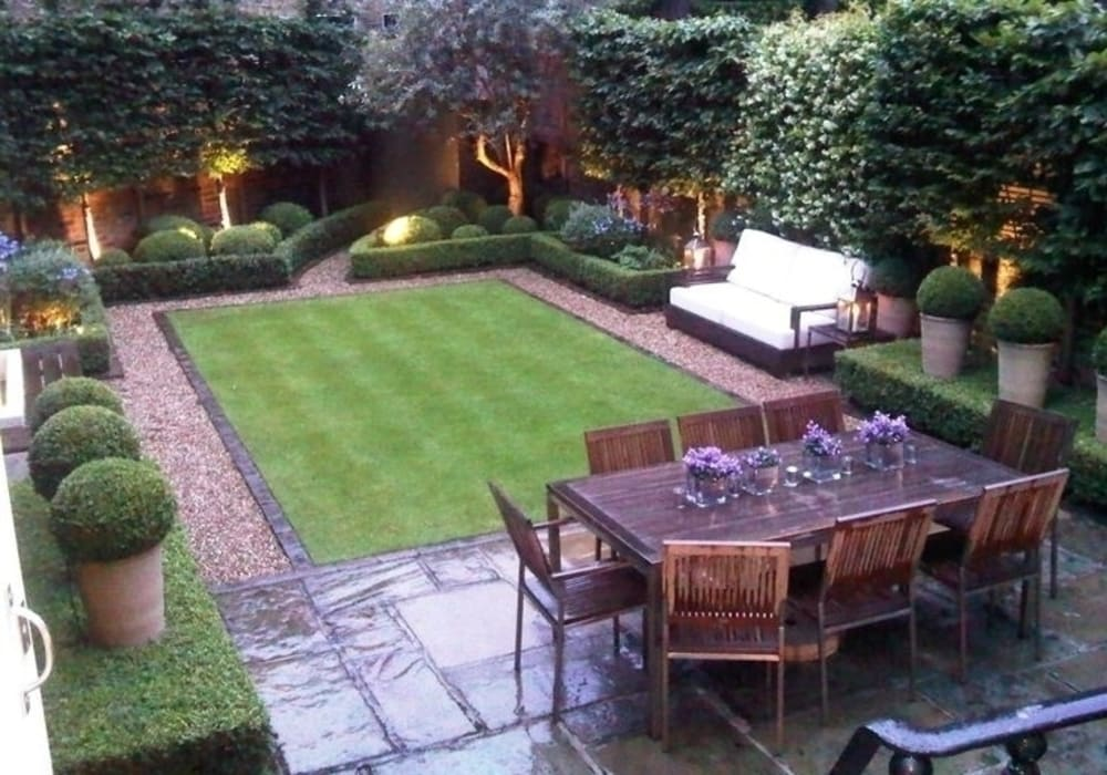 Piccoli giardini realizzati in città. small garden in the city: Giardino in stile  di Dotto Francesco consulting Green, Classico