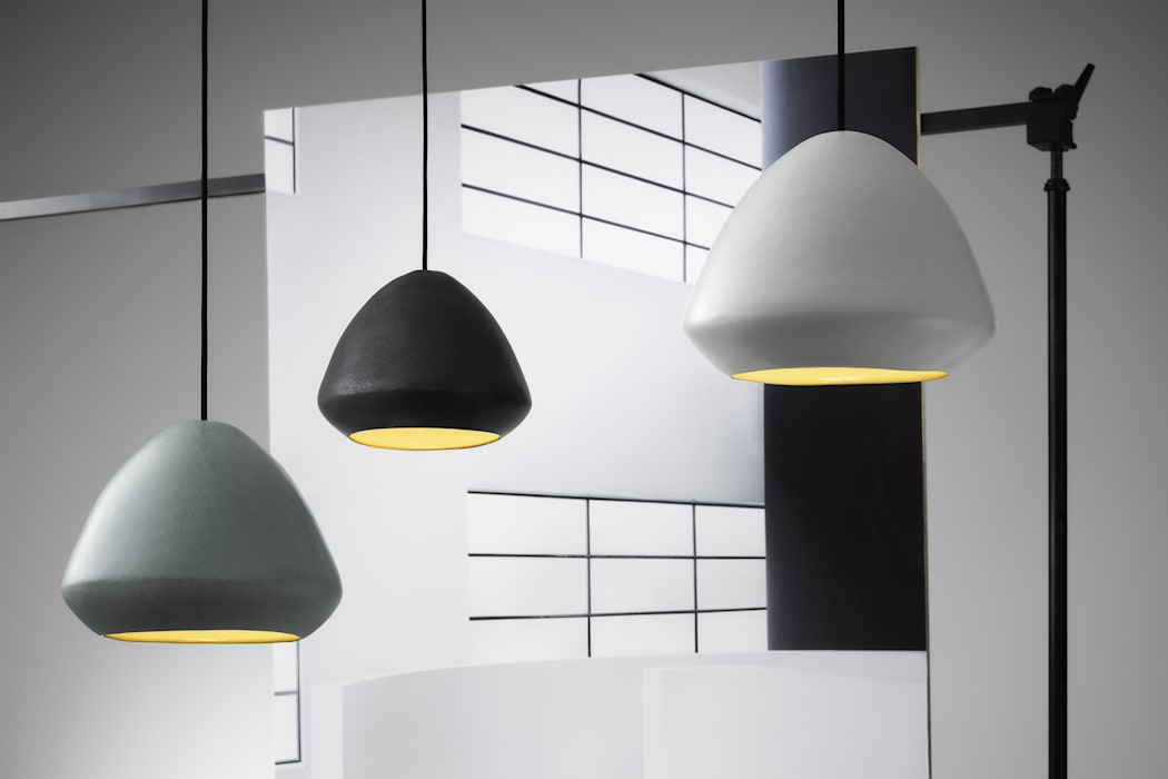 Ross Gardam Glaze ceramiczna, ręcznie formowania lampa sufitowa  z Australii: styl , w kategorii Hotele zaprojektowany przez ilumia.pl