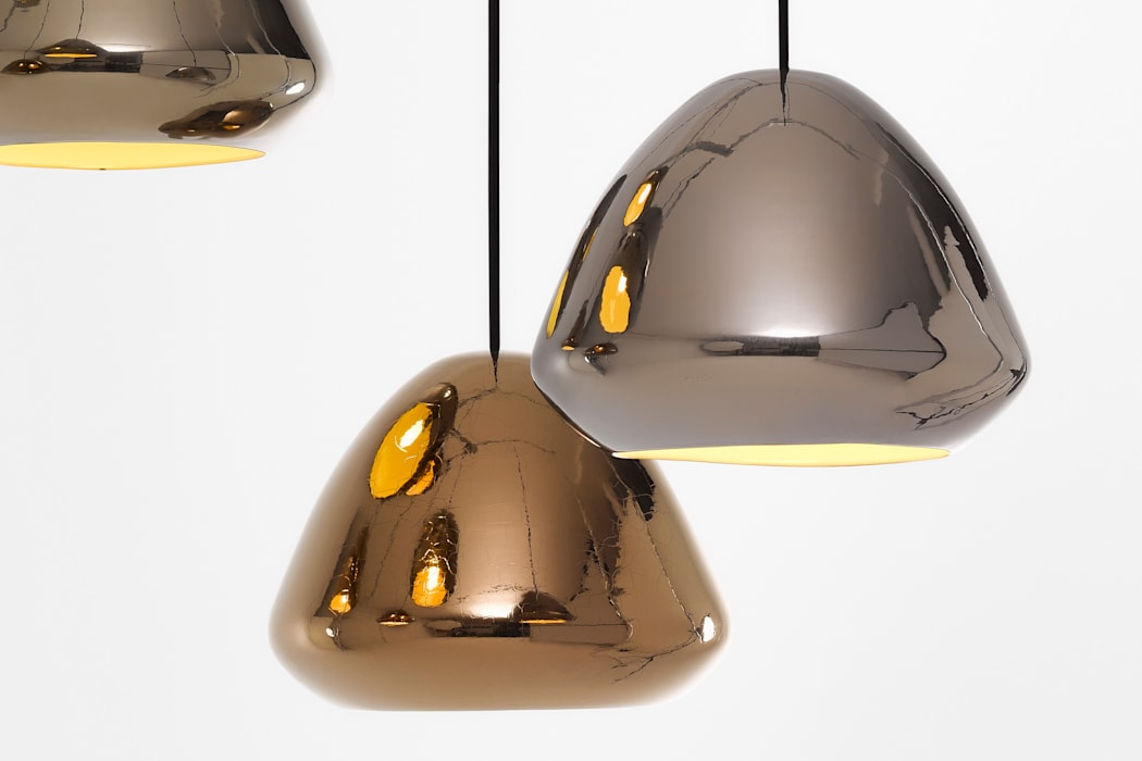 Ross Gardam Glaze ceramiczna, ręcznie formowania lampa sufitowa  z Australii: styl , w kategorii Biurowce zaprojektowany przez ilumia.pl