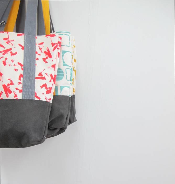 Tote Bags par Anna Bird Textiles Moderne