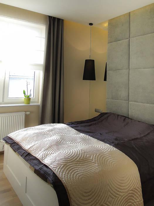 sypialnia: styl , w kategorii Salon zaprojektowany przez Inspiration Studio