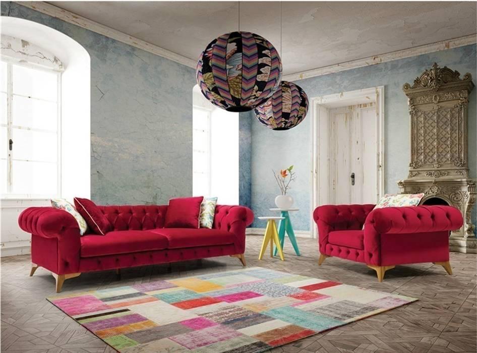 Living room by OSMANOĞULLARI MOBİLYA,