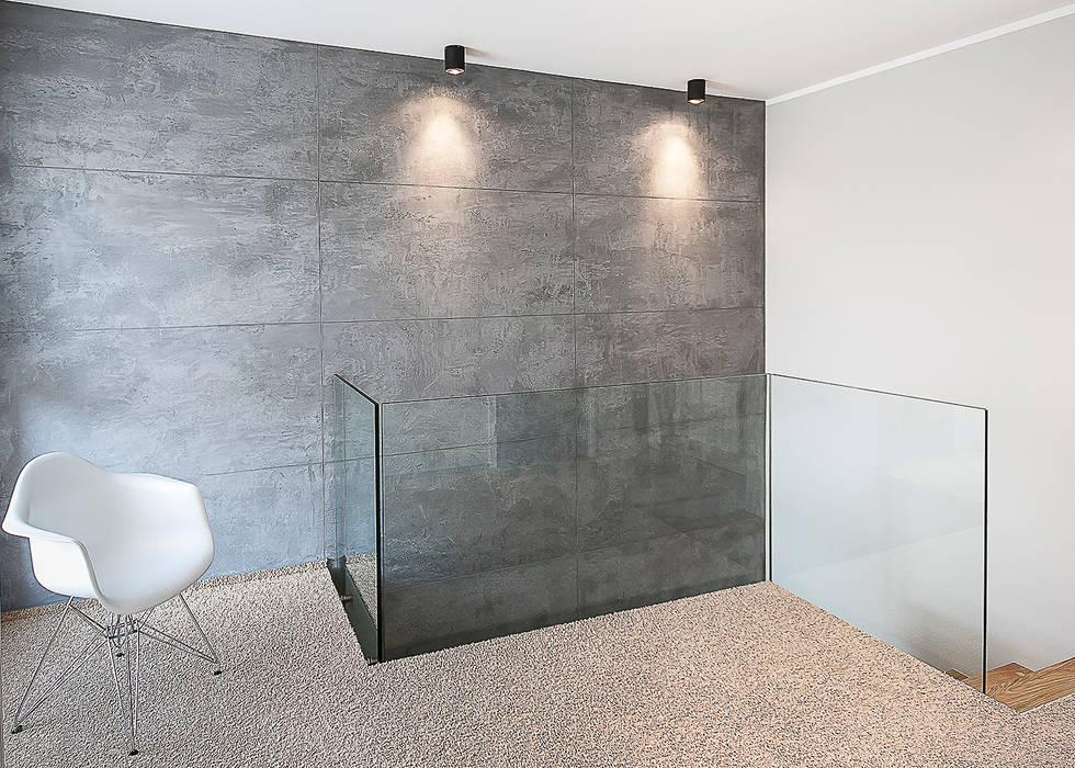 klatka schodowa Nowoczesny korytarz, przedpokój i schody od Inspiration Studio Nowoczesny
