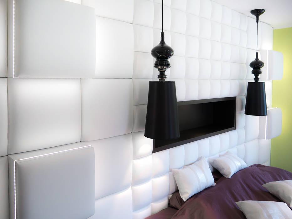 sypialnia: styl , w kategorii Sypialnia zaprojektowany przez Inspiration Studio,