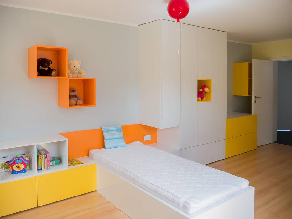 pokój dziewczynki Nowoczesny pokój dziecięcy od Inspiration Studio Nowoczesny