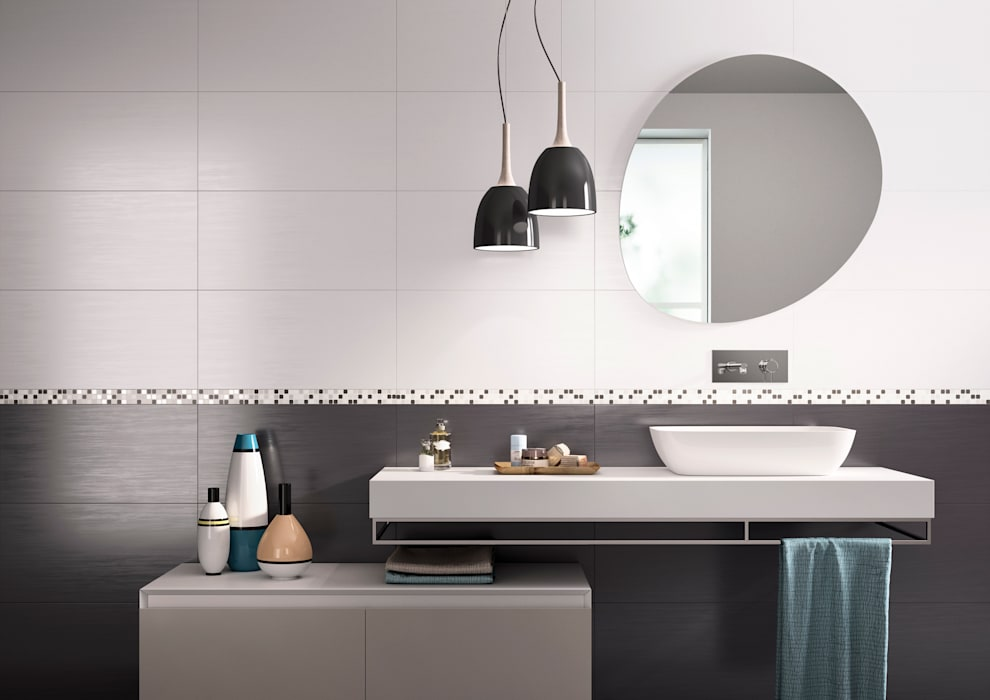 Cote d'Azure Tile Series Tileflair Modern bathroom
