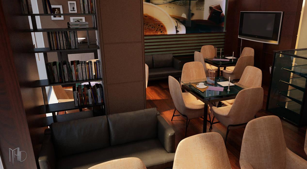 interior Camera 003 Modern Bar & Kulüpler MHD Design Group Modern