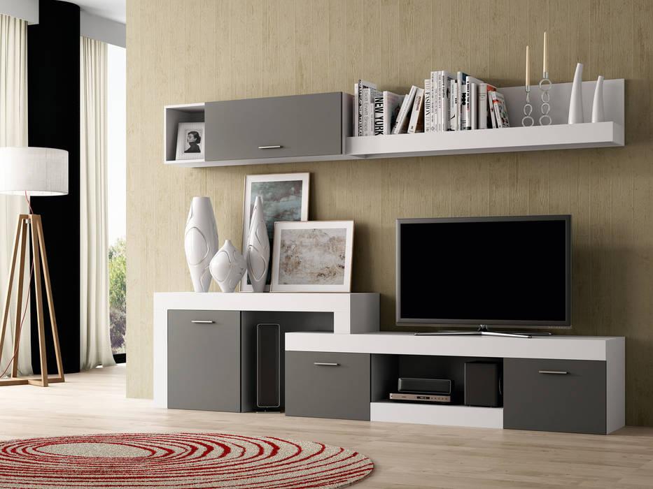 salas recibidores de estilo por muebles 1 click homify