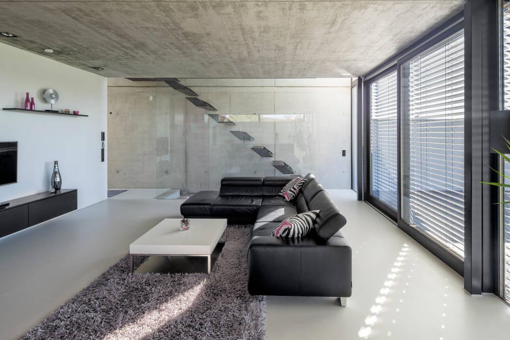 Гостиная в . Автор – Schiller Architektur BDA, Модерн