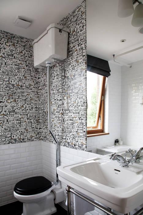Bathroom 現代浴室設計點子、靈感&圖片 根據 homify 現代風