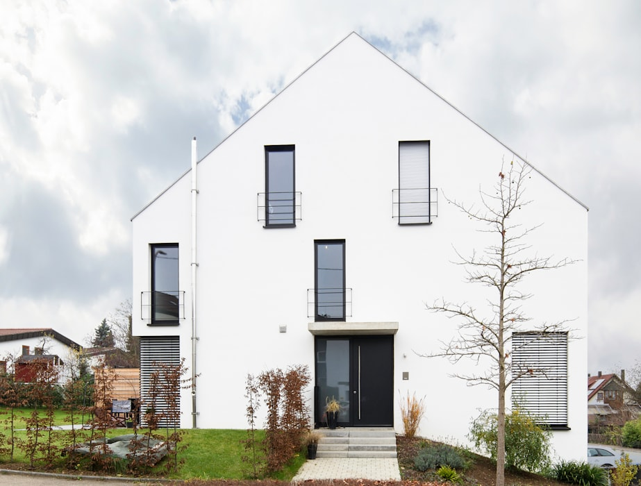 Minimalist Houses By Schiller Architektur Bda Minimalist