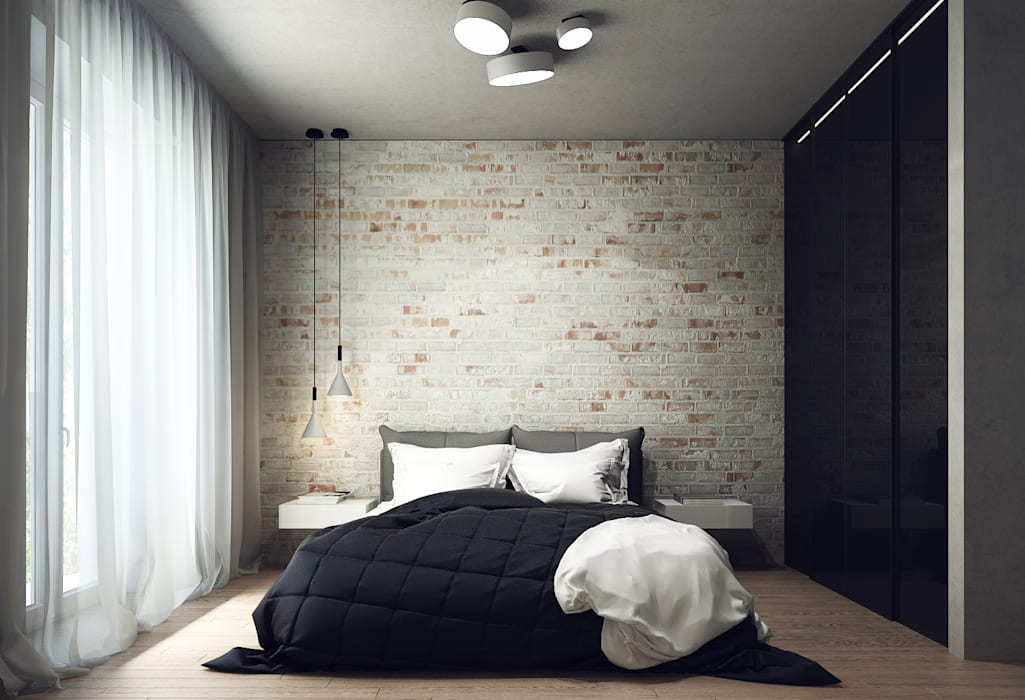 Minimalist bedroom by Projecto2 Minimalist