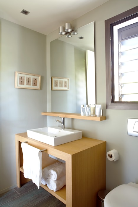 浴室 by Deu i Deu, 現代風