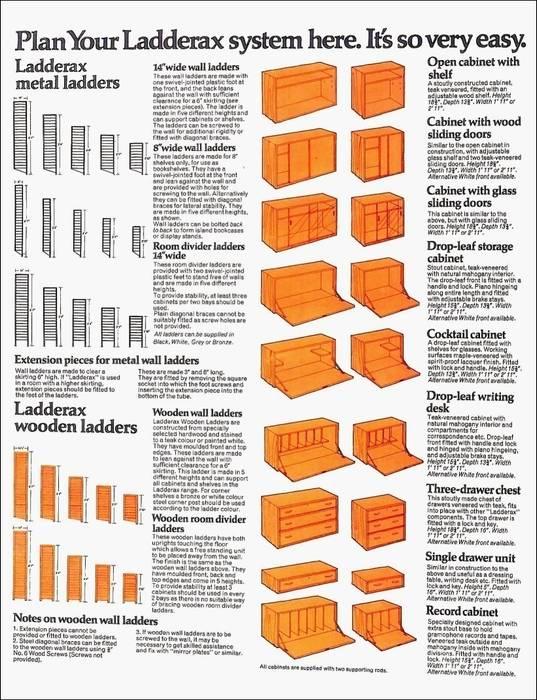 Ladderax Shelving od Diagonal Furniture Minimalistyczny