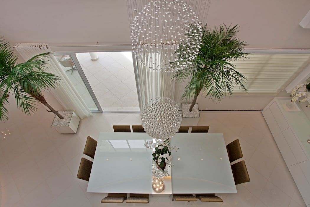 Dining room by Designer de Interiores e Paisagista Iara Kílaris, Modern