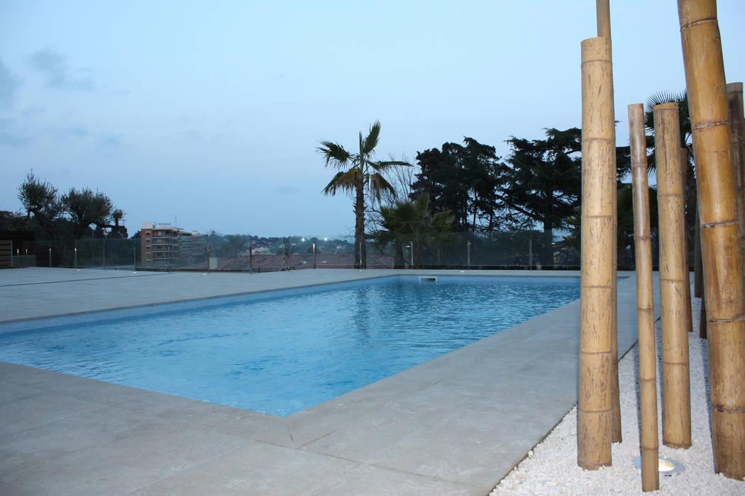 Zwembad Moderne zwembaden van Hamers Arquitectura Modern