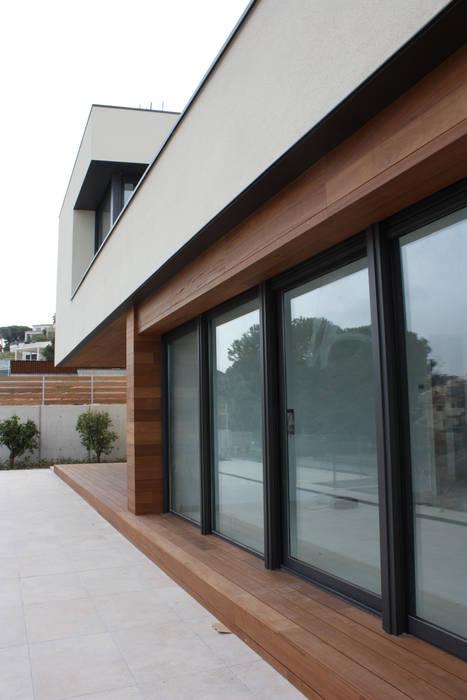 Gevelmateriaal :  Huizen door Hamers Arquitectura