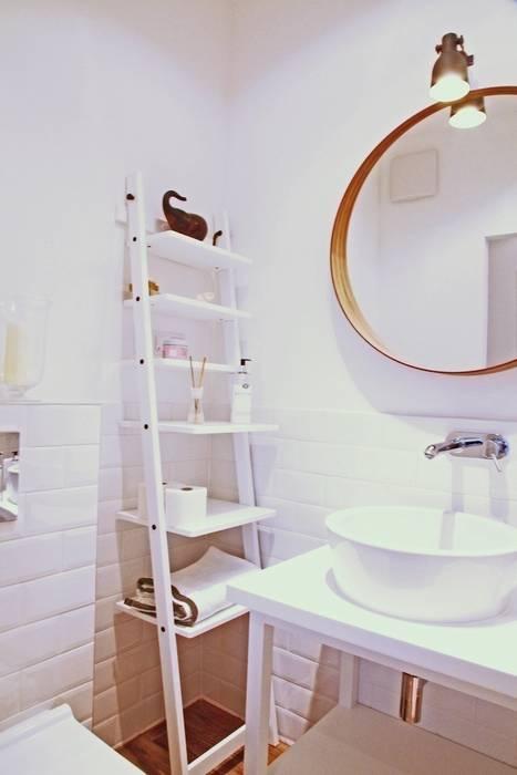 Mała Biała łazienka Gościnna W Szafie Projekt I Realizacja