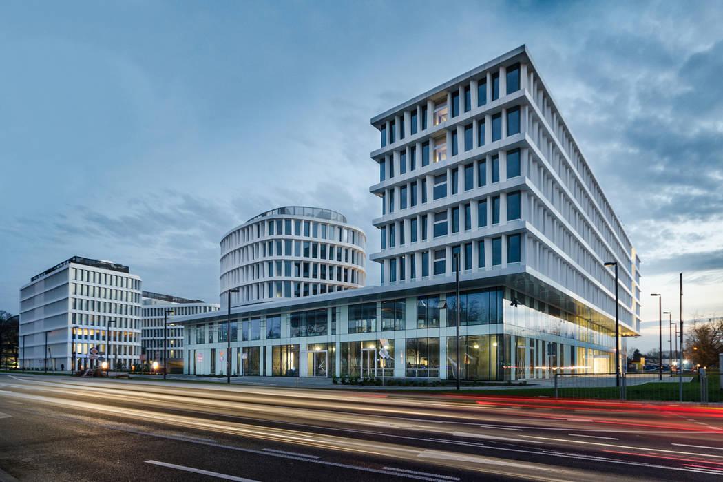 Sound Garden Hotel w Warszawie: styl , w kategorii Hotele zaprojektowany przez T3 Studio