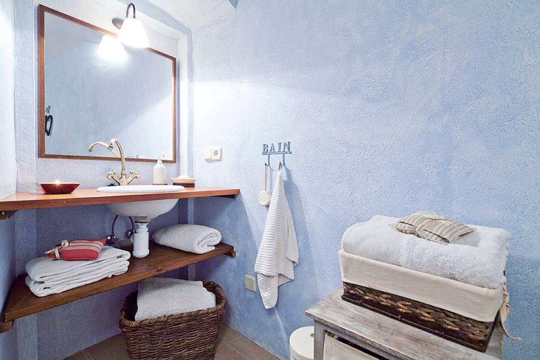 Baños de estilo rústico de Home Deco Decoración Rústico