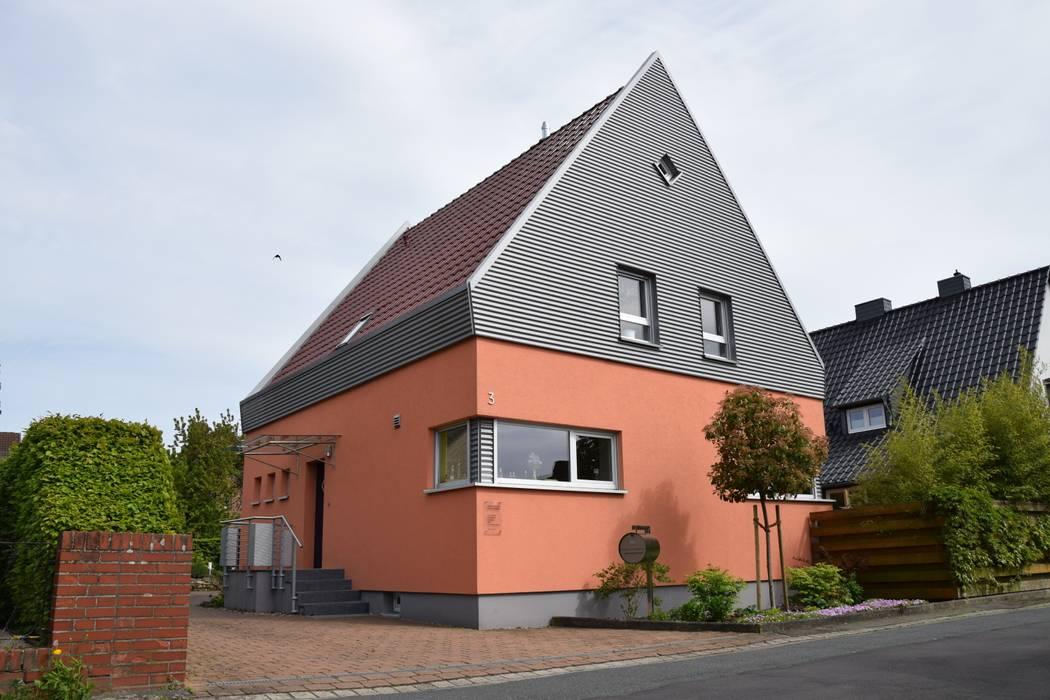 Nord/Westfassade Architekturbüro Heike Krampitz
