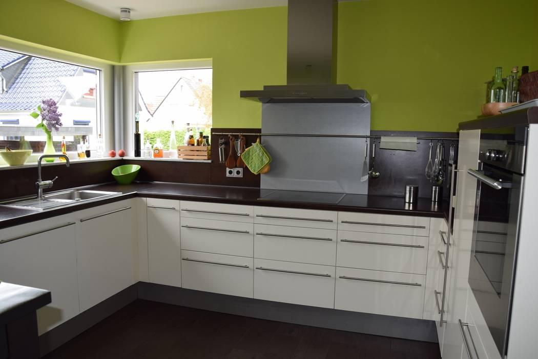 Küche mit eckfenster architekturbüro heike krampitz moderne küchen