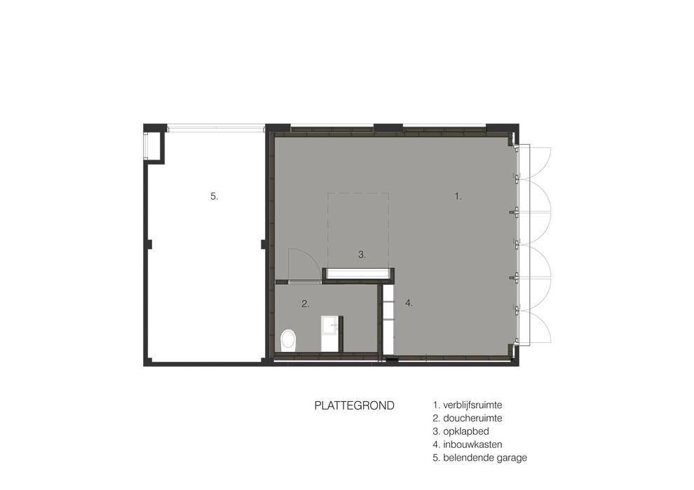 de style  par UMBAarchitecten, Moderne
