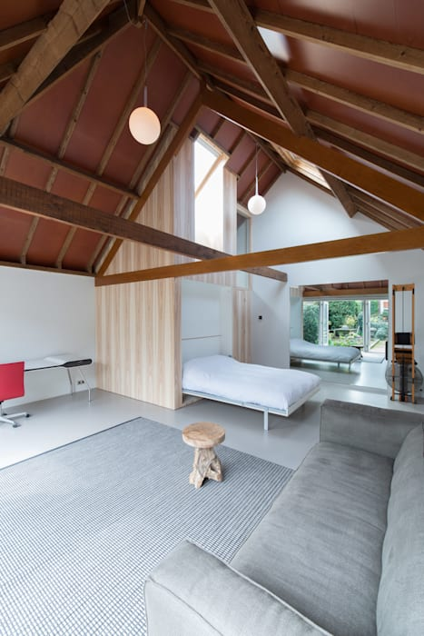 Chambre de style  par UMBAarchitecten, Moderne
