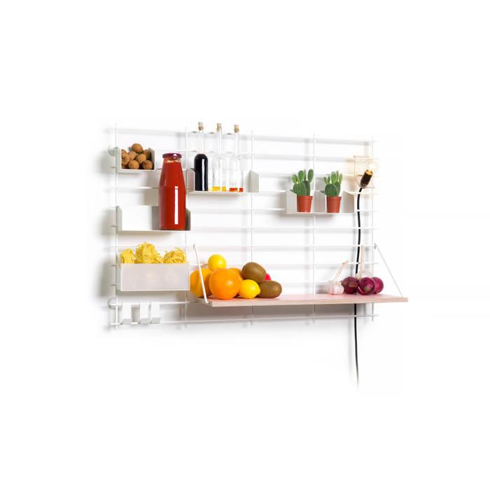 Atelier Belge CocinaEstanterías y gavetas