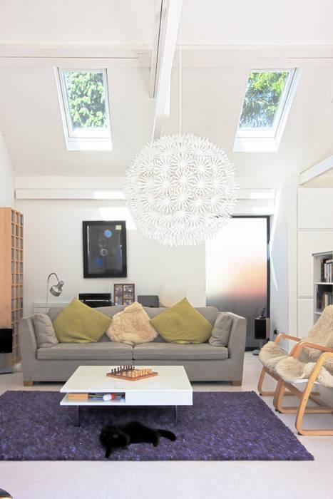 Salon de style  par NRAP Architects, Moderne