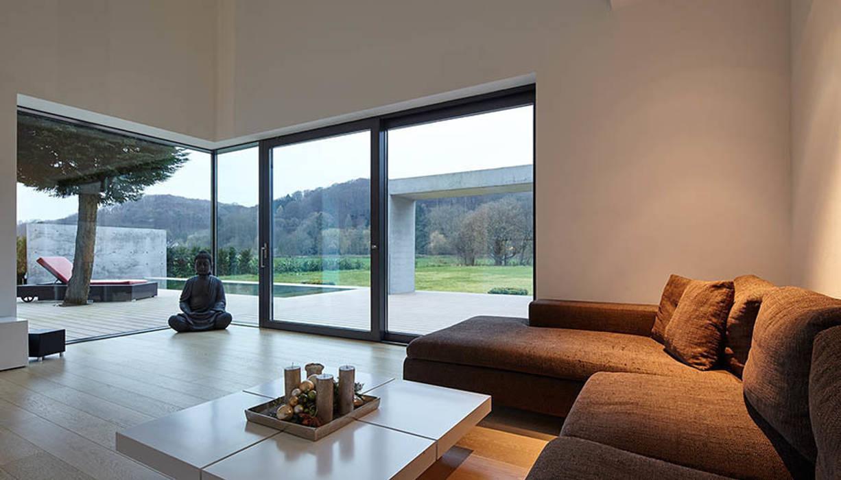 Wohnzimmer moderne wohnzimmer von wirges-klein architekten ...