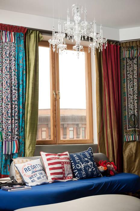Modern living room by Бюро Акимова и Топорова Modern
