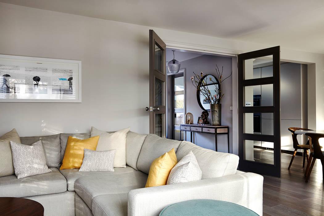 Family Room Modern living room by homify Modern