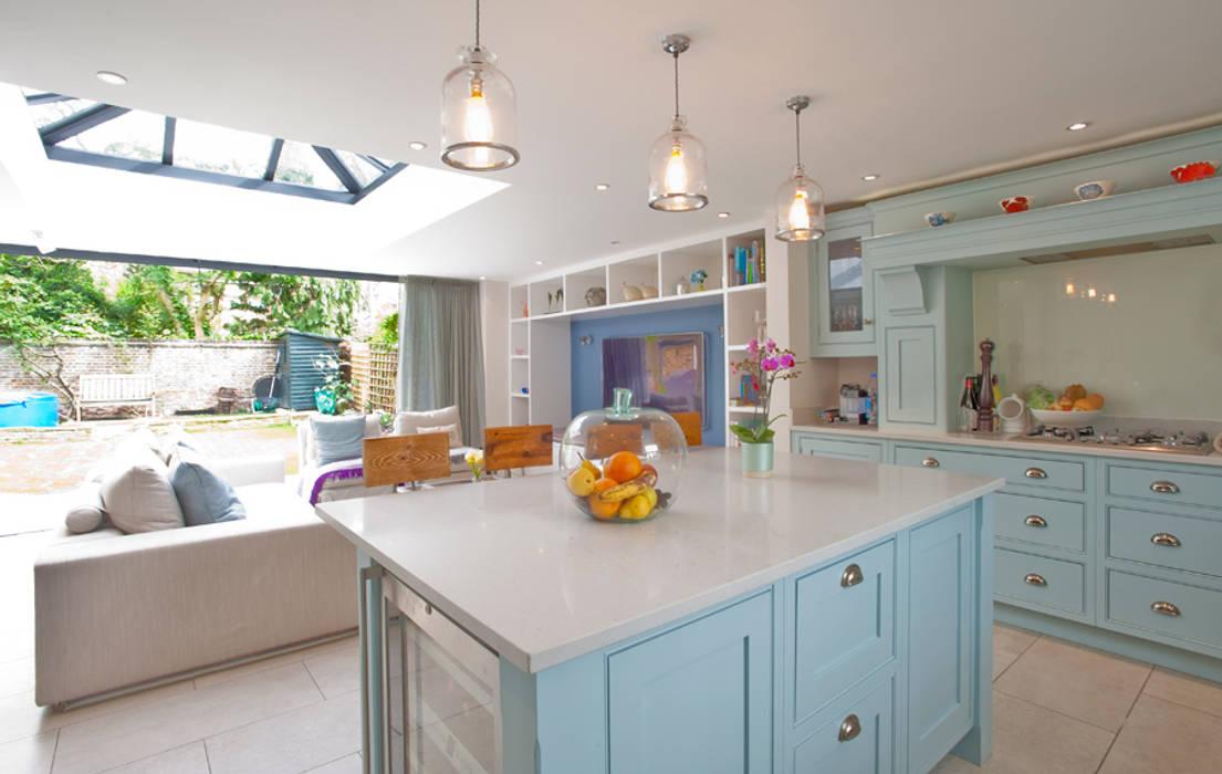 Clapham, SW4 Build Team Modern kitchen